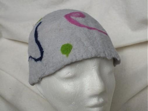 e1f02d125 Plstený klobúk šedý / m29m - SAShE.sk - Handmade Čiapky