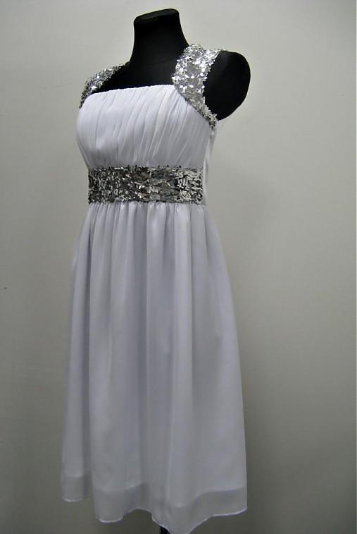 Šifónové šaty s flitrami rôzne farby   Dyona - SAShE.sk - Handmade Šaty c4116c759f0