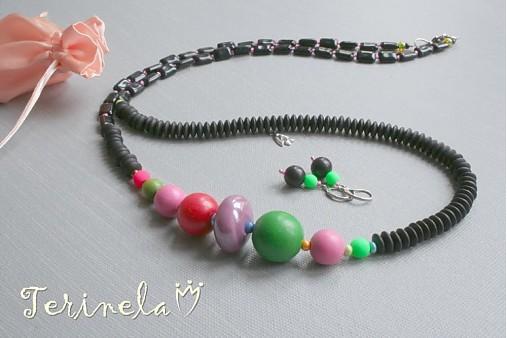 5fa4d1d16 Dlouhý náhrdelník + náušnice + dárek © Glamour ... / terinela ...