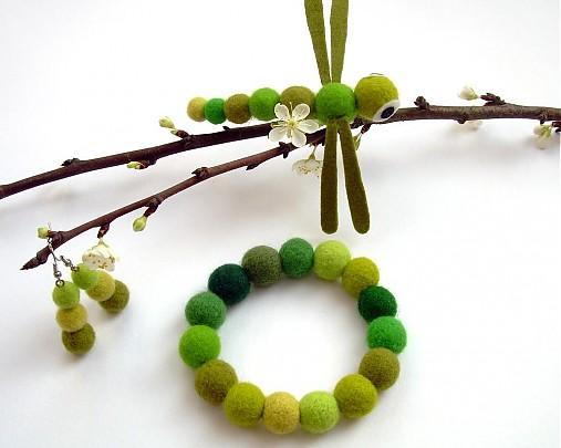 Náramok Večne je zelený   BioHandmade - SAShE.sk - Handmade Náramky b1e86abcc36