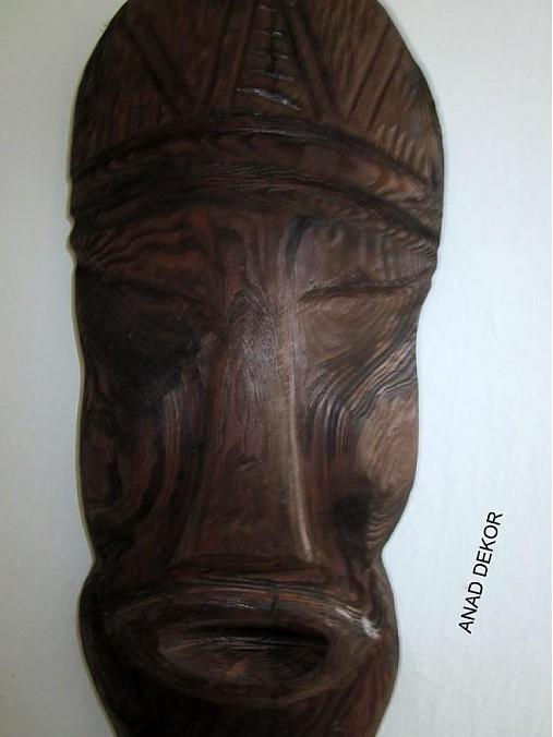 Drevená maska X-zlava   anad333 - SAShE.sk - Handmade Dekorácie d1ae217018