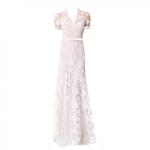 682e5c542e2c Krajkové šaty biele by Dagmar Spring 2014   Dyona - SAShE.sk ...