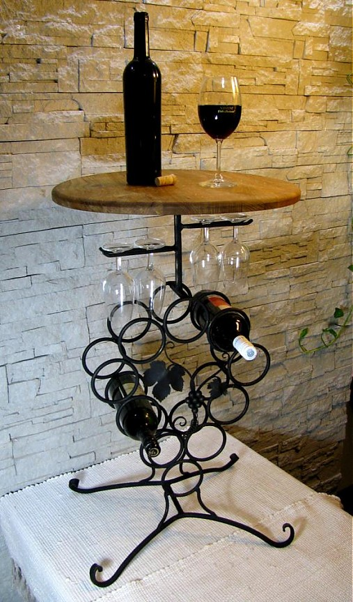07472cde19 Degustačný stolík na víno   efesto - SAShE.sk - Handmade Pomôcky