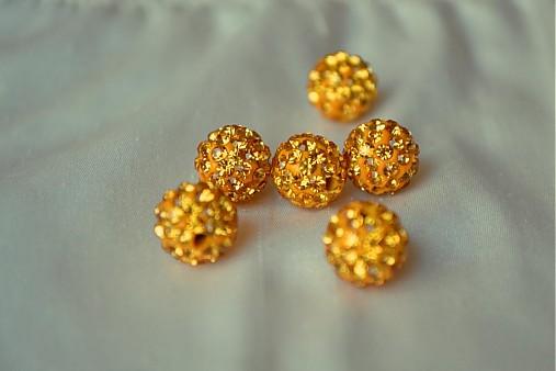 shamballa korálky CZ kryštál colorado, 10mm, 0.25€/ks