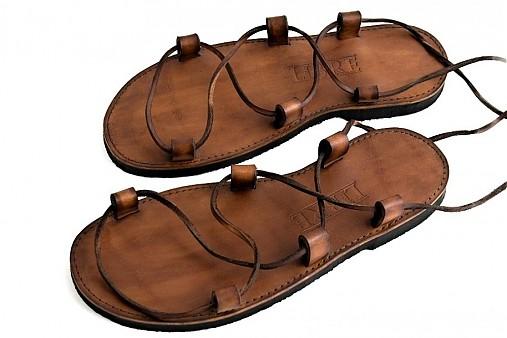 c1f817c15901 Kožené sandále Kristusky Camel   LIBREatelier - SAShE.sk - Handmade Obuv