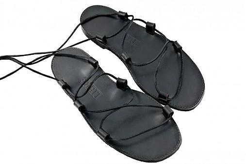 7c01bbb44581 Kožené sandále Kristusky Black   LIBREatelier - SAShE.sk - Handmade Obuv