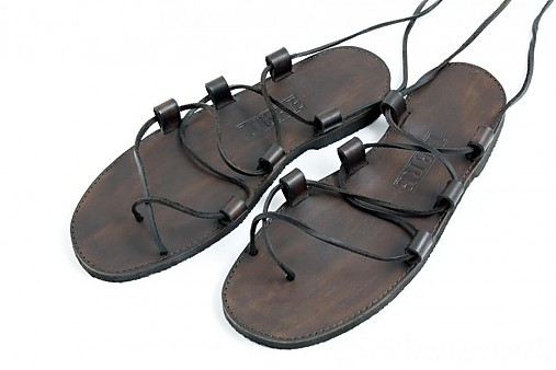 ccf1614319c9 Kožené sandále Gladiator   LIBREatelier - SAShE.sk - Handmade Obuv
