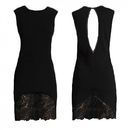 Elastické šaty s krajkou rôzne farby   Dyona - SAShE.sk - Handmade Šaty 1e604153cf0