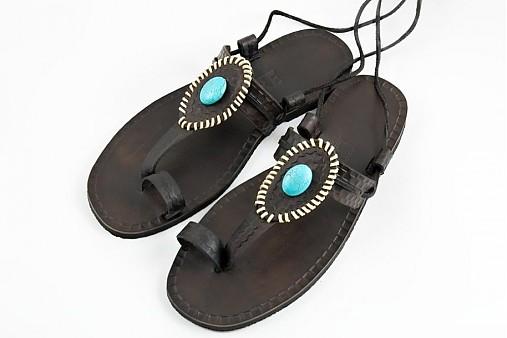 738339907881 Kožené sandále Stone   LIBREatelier - SAShE.sk - Handmade Obuv