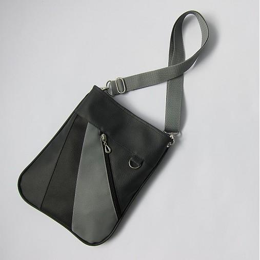 040537ea41 DOGGY - Laika Black Grey   TM - SAShE.sk - Handmade Kabelky