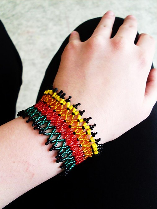 3b2615f6e Reggae sieťka / mirik6 - SAShE.sk - Handmade Náramky