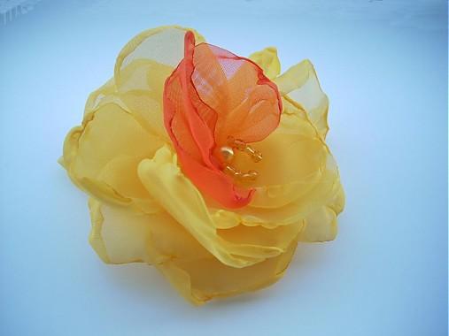 82e3e41c7 Orchidea žltá...do-predaj / MaZulu - SAShE.sk - Handmade Odznaky/Brošne