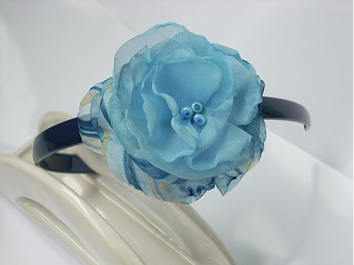2d77c3e2e čelenka v modrom/do-predaj/ / MaZulu - SAShE.sk - Handmade