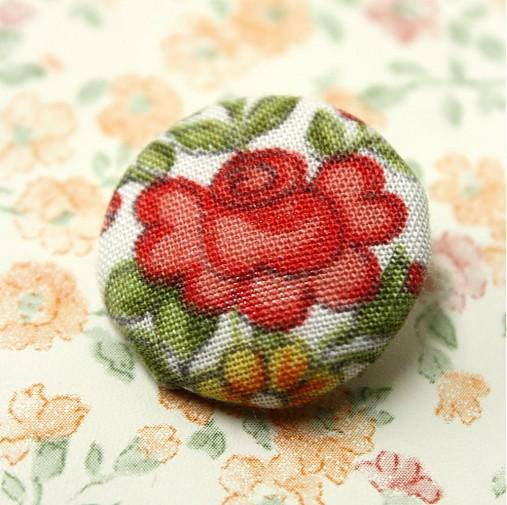 Buttonky Šípková ruženka 26 mm