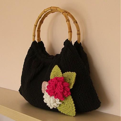 Kvítečková kabelka- výprodej   u-bambule - SAShE.sk - Handmade Kabelky 80d3e7ea2c