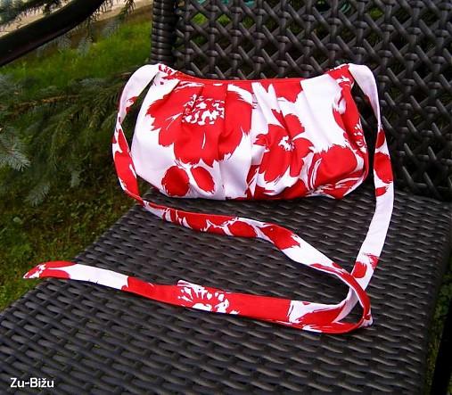 LETNÁ ZĽAVA Červená kabelka   zu - SAShE.sk - Handmade Kabelky dffbb6cb04e