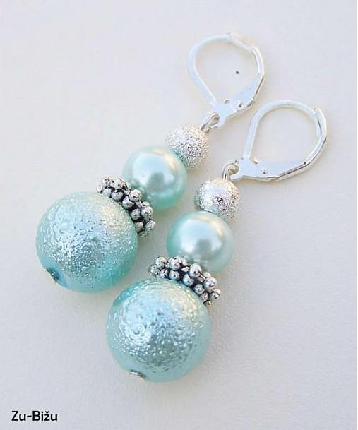 LETNÁ ZĽAVA Svetlé tyrkysové perličky   zu - SAShE.sk - Handmade ... 32d6ad91144