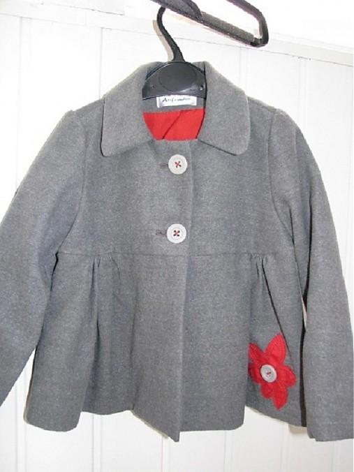 Dievčenský kabátik   d-u-1447662883 - SAShE.sk - Handmade Detské ... 81e670b926e