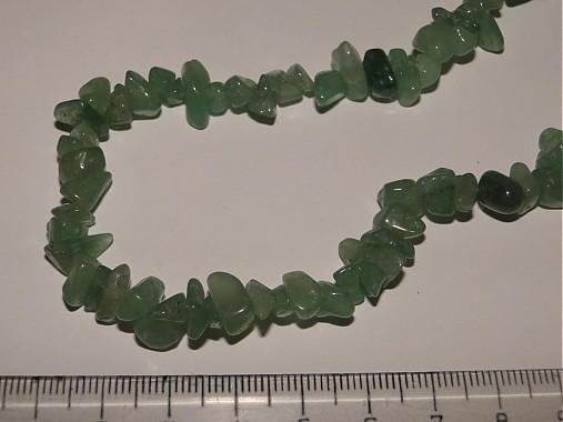 Minerály-zlomky-návlek 10cm (Aventurín)