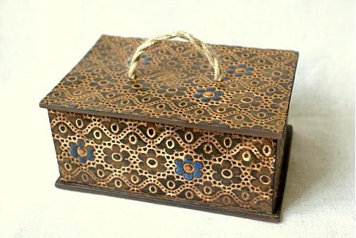 Škatuľa čipková