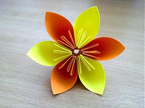 Origami kvety