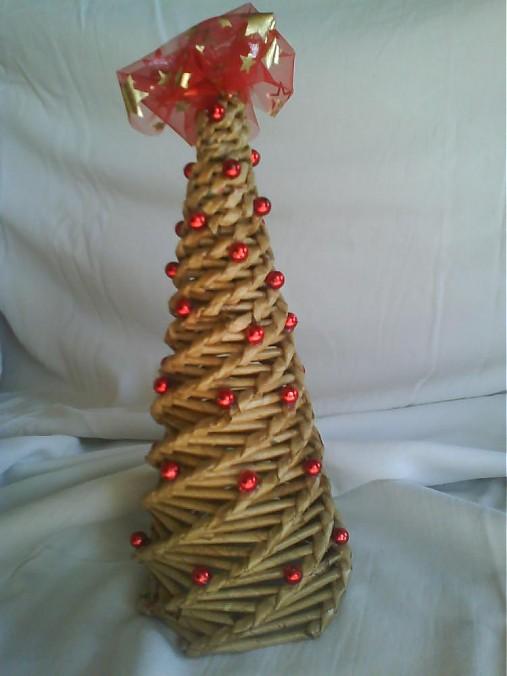 b4f773a9a Vianočný stromček - hnedočervený / cuky18 - SAShE.sk - Handmade