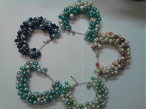 Perličkové náramky   dandulis - SAShE.sk - Handmade Náramky 8d1e0675bcc