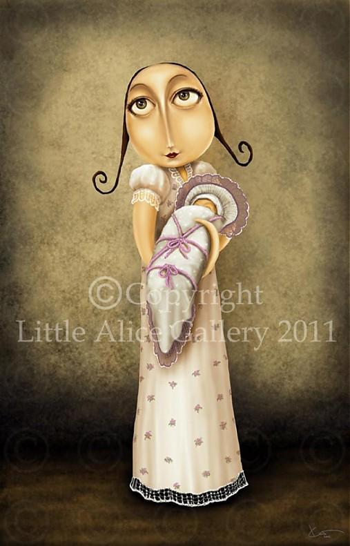 Ilustrácia Maminka