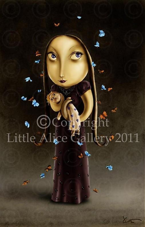 Ilustrácia Motýľ
