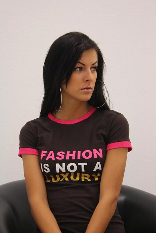 Tričko -- FASHION IS NOT A LUXURY   veronikaIN FASHION - SAShE.sk ... 3589dc99054