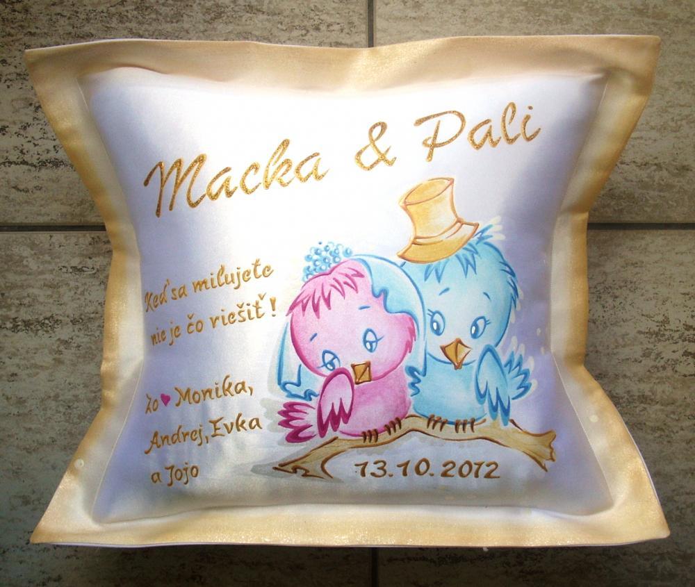 Darek k vroiu svadby pre manela - Modr konk