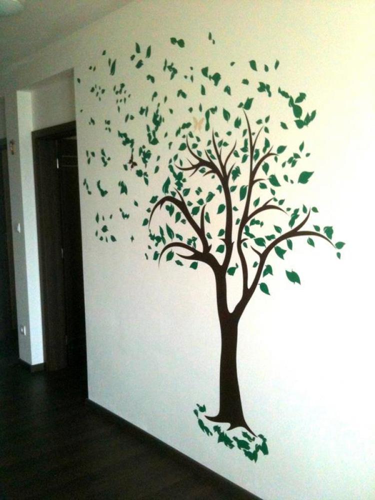 100n Nalepka Na Stenu Strom Artsablony Sashe Sk Handmade Dekoracie