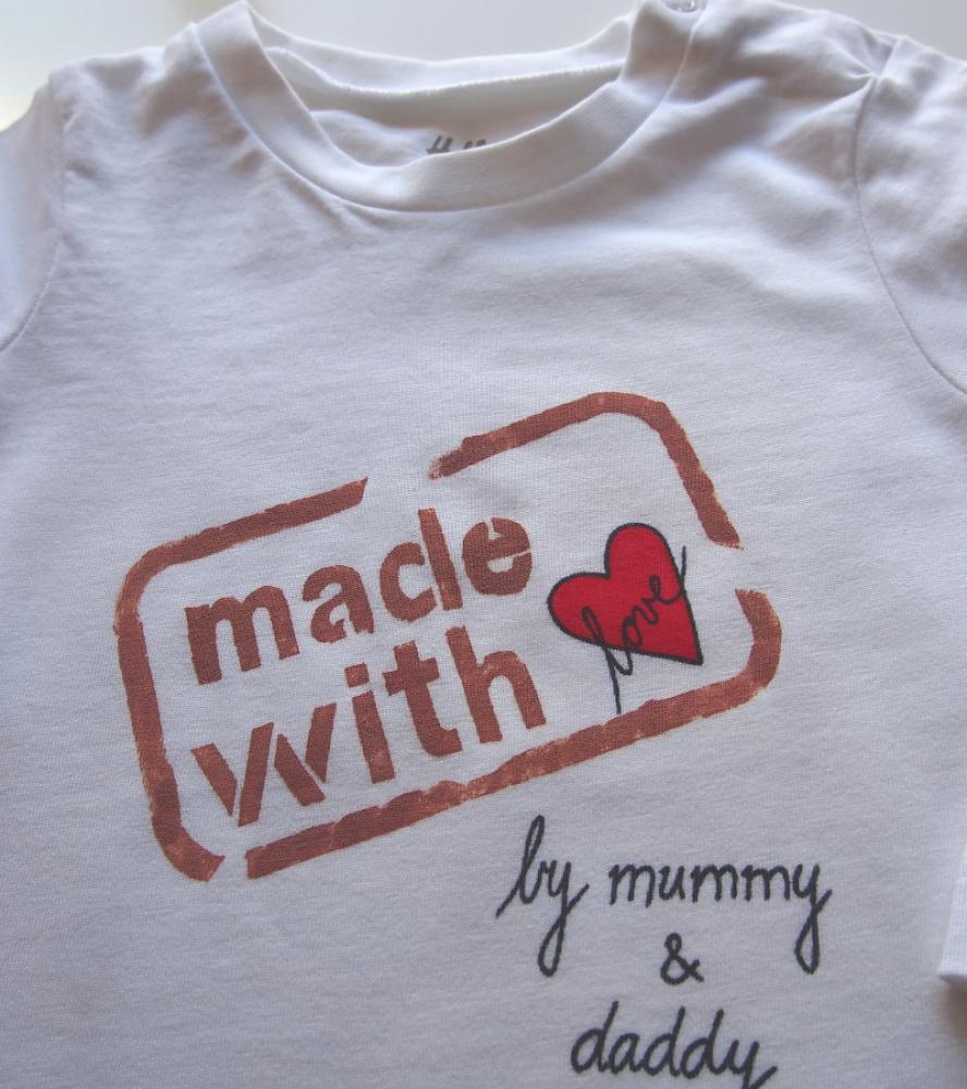 d0ed6deab ... Detské oblečenie - Dlhorukávové body pre bábätko - made with love -  2670777 ...
