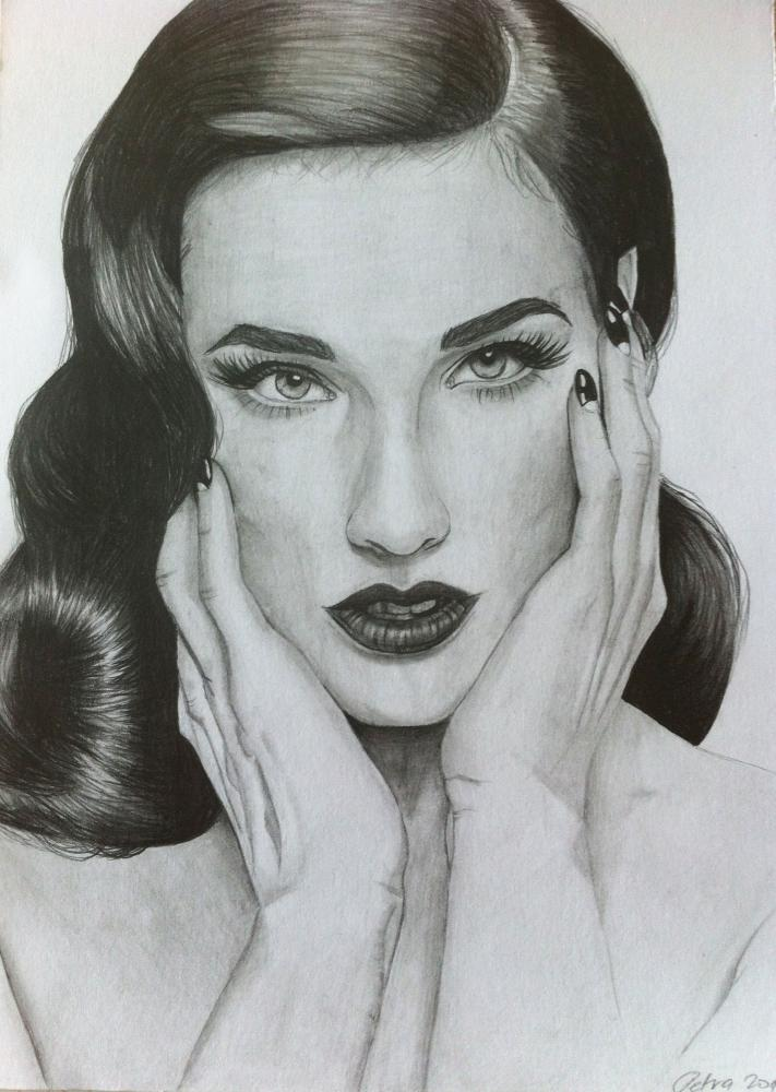 Portret Cloveka Blackvelvet Sashe Sk
