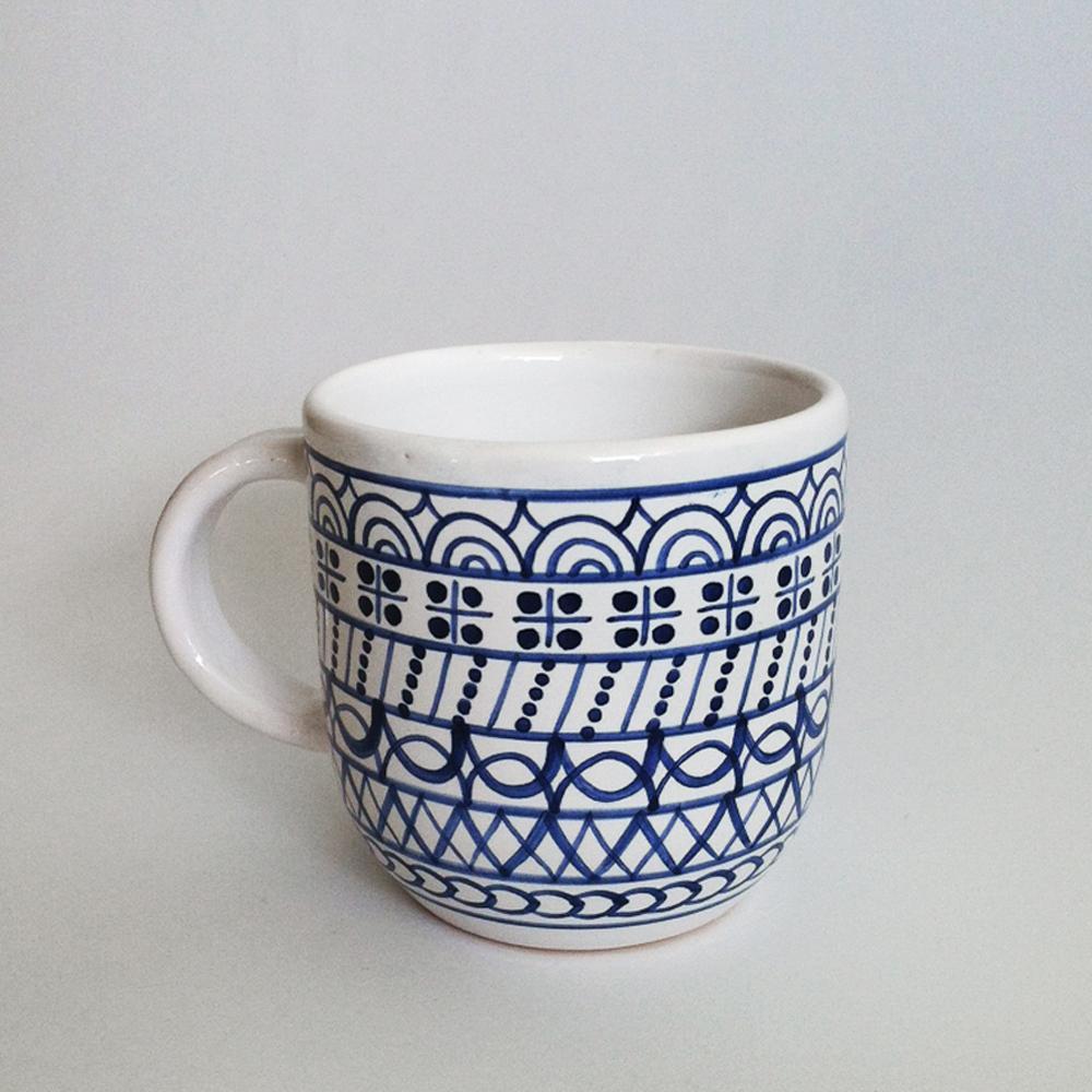 Nádoby - šálka veľká modranska - 3086218