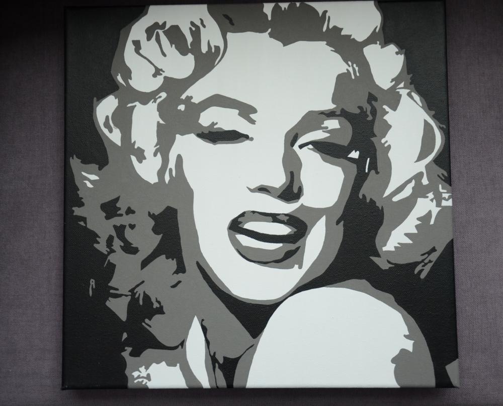 Marilyn Monroe Tisha Sashesk Handmade Obrazy