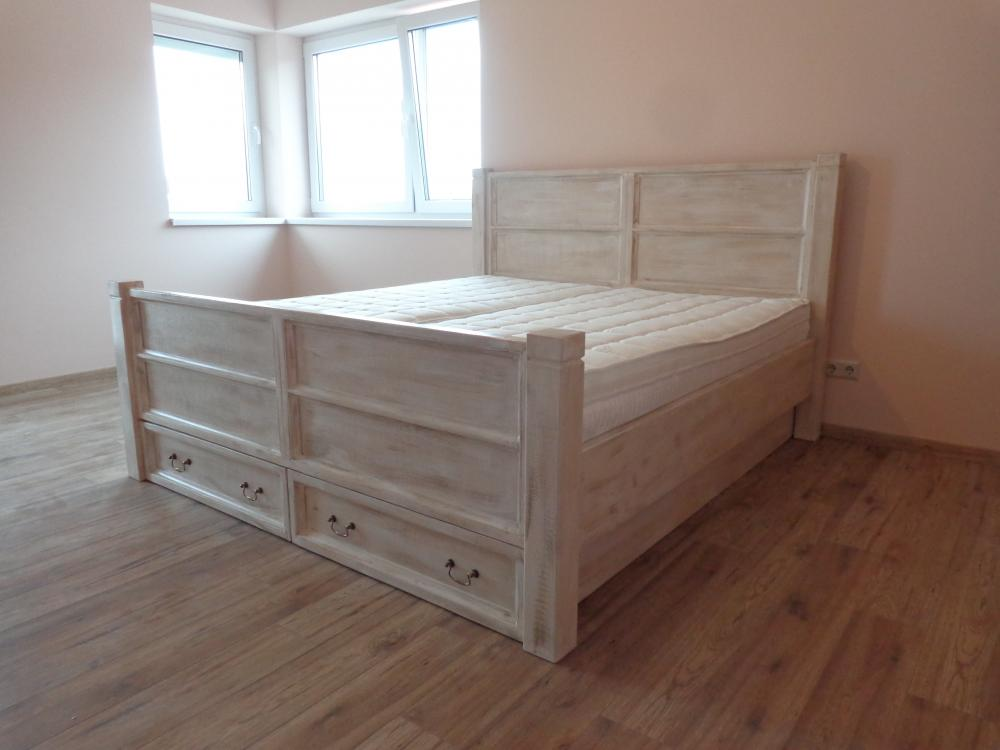 Provensálská postel 2. / Franko - SAShE.sk - Handmade Nábytok