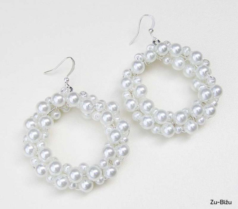 Kruhové perličky   zu - SAShE.sk - Handmade Náušnice b11f4d6055c
