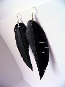 Náušnice - Feathers 01 - 1002324