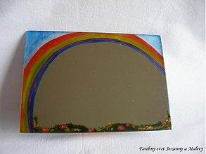 Zrkadlá - zrkadlo Dúha, šťastie a tí druhí - 1003951