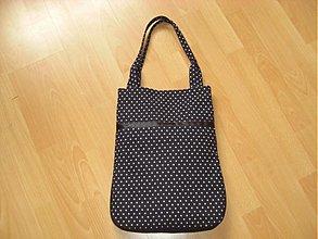 Veľké tašky - Čierne bodky - 100750