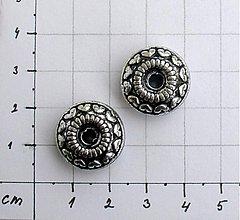 Korálky - Plochá korálka 17 mm, veľká dierka/ 1 ks - 1009336