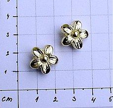 Korálky - kovová korálka 1,6 cm/ 1 ks - 1009391
