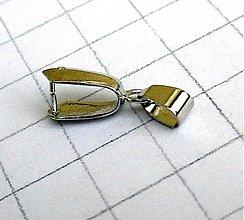 Komponenty - Úchyt - koncovka na prívesok/ 1 ks - 1015941