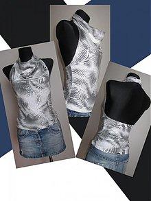 Tielka - Trendy tričko :) - 1019119
