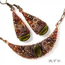 Náhrdelníky - Náhrdelník Olives... - 1024008