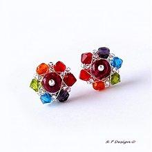 Náušnice - Náušničky Colors ... - 1025255