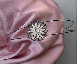 Vintage čelenka s krištáľom Swarovski - 1026646 d9bf957639