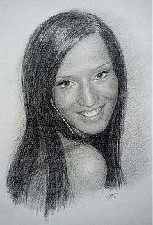 Kresby - kreslený portrét na objednávku ako darček - 1030844