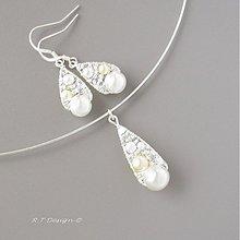 Náhrdelníky - Svatební náhrdelník... - 1033171
